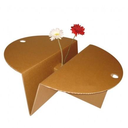 mobilier carton table basse carton solutions tech prod mat riel v nementiel sur bordeaux. Black Bedroom Furniture Sets. Home Design Ideas