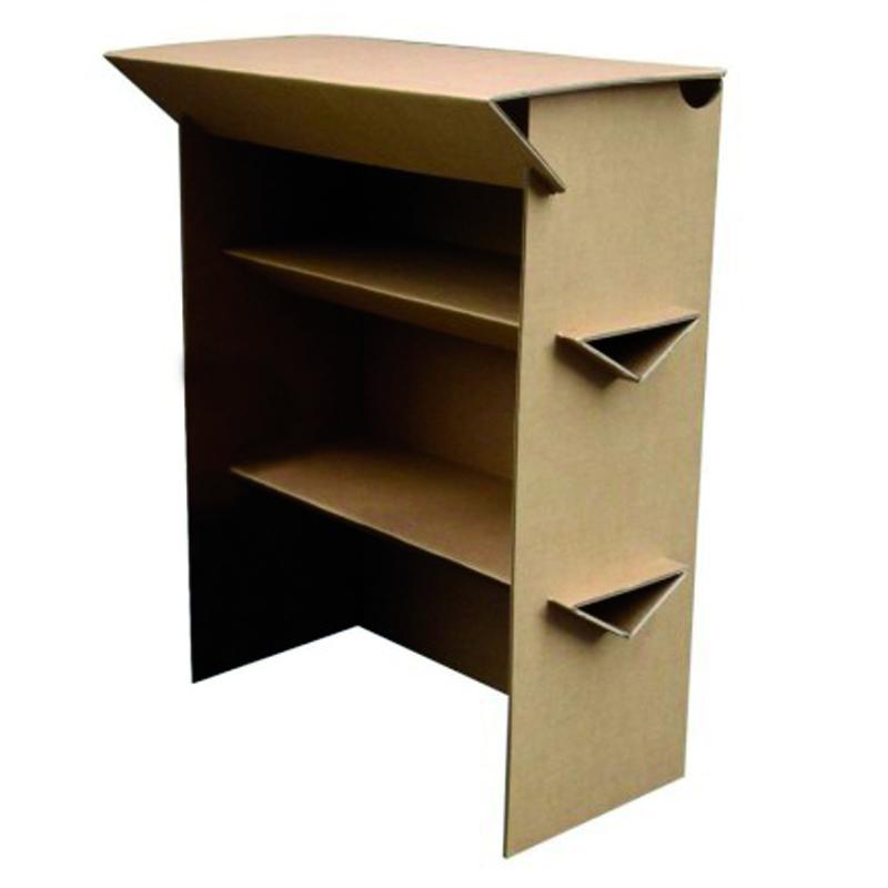 solutions tech prod catalogue location mobilier carton comptoir d 39 accueil carton materiel. Black Bedroom Furniture Sets. Home Design Ideas