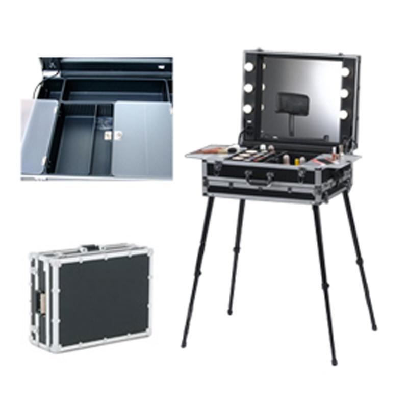 solutions tech prod catalogue location table de maquillage make up portable roller. Black Bedroom Furniture Sets. Home Design Ideas