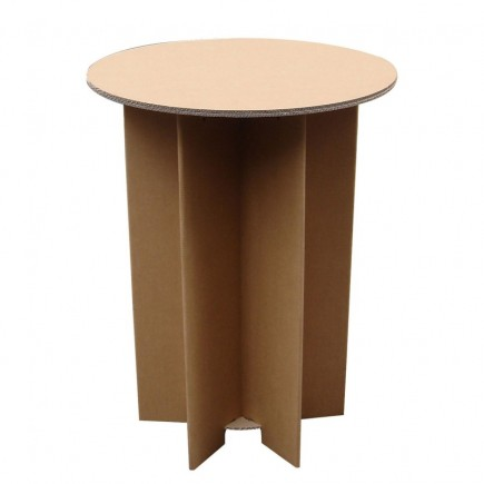 Solutions tech prod catalogue location mobilier carton table haute carton - Fabriquer table haute ...